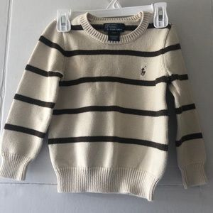 Polo by Ralph Lauren Boys Striped Sweater